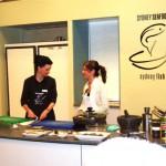 A Brigid Treloar cooking class